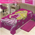 Cobertor Barbie Mattel Jolitex