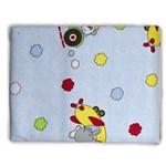 Cobertor Bebe Bercinho Incomfral 90x110 Azul