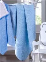 Cobertor Bebê Jolitex Azul