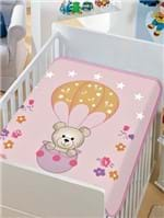 Cobertor Bebê Jolitex Rosa