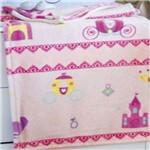 Cobertor Bebê Menina Jolitex Microfibra Flannel Kyor Princesas