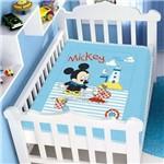 Cobertor Bebê Raschel Mickey Barquinho - Jolitex