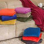 Cobertor Casal Fleece Galles Amarelo - Casa & Conforto