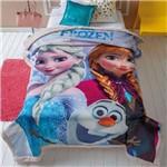 Cobertor com Sherpa Jolitex Solteiro Digital Disney Frozen