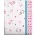 Cobertor Estampado - Rosa 1