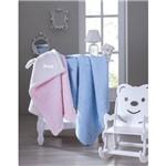 Cobertor Infantil Carneirinho Baby Rosa Jolitex