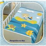 Cobertor Infantil Jolitex Barquinho no Mar