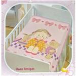 Cobertor Infantil Jolitex Doce Amigas