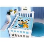Cobertor Infantil Raschel Disney Baby Mickey e Pluto 100% Poliéster – Jolitex