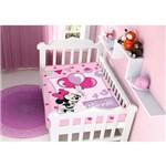 Cobertor Infantil Raschel Disney Baby Minnie Festa 100% Poliéster – Jolitex