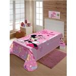 Cobertor Infantil Raschel Disney Minnie Laços 100% Poliéster – Jolitex