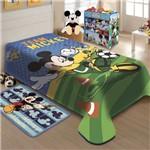 Cobertor Infantil Raschel Mickey Futebol - Jolitex