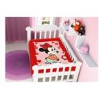 Cobertor Jolitex Disney Raschel Minnie Florzinha