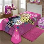 Cobertor / Manta Barbie Raschel - Jolitex