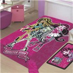 Cobertor / Manta Monster High Raschel - Jolitex