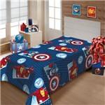 Cobertor Manta Solteiro Infantil Vingadores Soft Jolitex