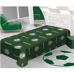 Cobertor Manta Solteiro Palmeiras 1,50mx2,20m Jolitex