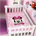 Cobertor Menina Disney Minnie Coração Jolitex