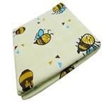 Cobertor para Bebê Neutro Amarelo Abelha