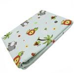 Cobertor para Bebê Neutro Verde Safari