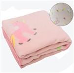 Cobertor para Bebê Soft Feminino