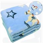 Cobertor para Bebê Soft Masculino