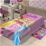 Cobertor Raschel Solteiro Juvenil Antialégico Disney Encanto de Princesas - Jolitex