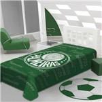 Cobertor Stadium Palmeiras Casal 1.80 X 2.20m Jolitex