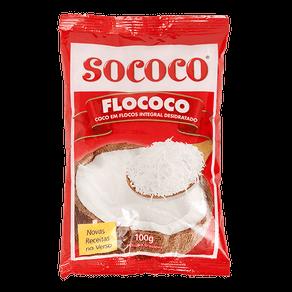 Coco em Flocos Sococo Flococo 100g