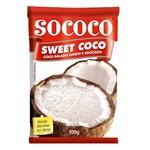 Coco Ralado Adoçado Úmido Sweet 100g - Sococo
