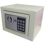Cofre Eletrônico Digital e Manual Pequeno Modelo Mini 17x23x17cm Marca Akordar