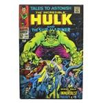 Cofre Livro Hulk