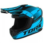 Cofre Pro Tork Mini Capacete Factory Edition Cross Azul