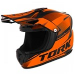 Cofre Pro Tork Mini Capacete Factory Edition Cross Laranja