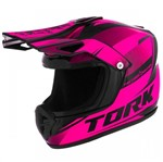 Cofre Pro Tork Mini Capacete Factory Edition Cross Rosa