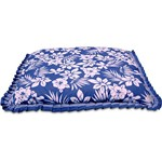 Col. Pet M (Aqua) Azul Floral