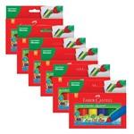 Cola Colorida 6 Cores 23g Pct 6 Un. Faber Castell