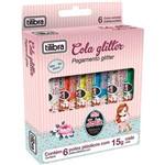 Cola Glitter Jolie 6 Cores - Tilibra