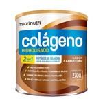 Colágeno Hidrolis 2 em 1 - 250 Gramas - Maxinutri Cappuccino