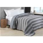 Colcha Comfort King Dream Cinza Home Design Corttex