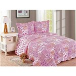 Colcha Evoluition King 260x280 Balan Camesa Pink