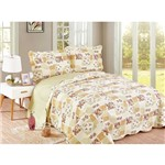 Colcha Evolution Patchwork Queen 240x260 Eva Camesa
