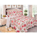 Colcha Evolution Patchwork Queen Canton