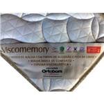 Colchão Casal de Espuma Ortobom Viscomemory 138x188x32