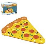 Colchão Inflavel Pizza 175x130cm Summer Fun na Caixa
