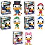 Coleção 5 Bonecos Ducktales Funko os Caçadores de Aventuras