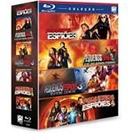Coleção Blu-ray Pequenos Espiões: 1, 2, 3 e 4 (4 Discos)