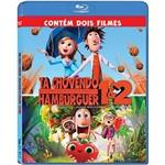 Coleção Blu-Ray - Tá Chovendo Hamburguer + Tá Chovendo Hamburguer 2 (Duplo)