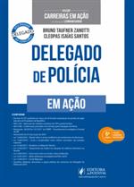 Coleção Carreiras em Ação - Delegado de Polícia (2018)