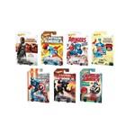 Coleção com 8 Hot Wheels Capitão América Marvel - Mattel Djk75
